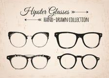 Εκλεκτής ποιότητας στοιχεία μόδας Hipster hand-drawn στοκ φωτογραφία με δικαίωμα ελεύθερης χρήσης