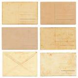 Εκλεκτής ποιότητας συλλογή καρτών Στοκ Εικόνα