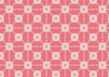 Εκλεκτής ποιότητας σχέδιο λουλουδιών και στροβίλου στο υπόβαθρο κρητιδογραφιών Στοκ εικόνα με δικαίωμα ελεύθερης χρήσης