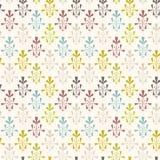 Εκλεκτής ποιότητας σχέδιο ταπετσαριών χρώματος διάφορο διάνυσμα παραλλαγών προτύπων πιθανό Στοκ φωτογραφίες με δικαίωμα ελεύθερης χρήσης