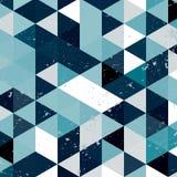 Εκλεκτής ποιότητας σχέδιο τριγώνων Γεωμετρικό αναδρομικό υπόβαθρο hipster με τη θέση για το κείμενό σας αναδρομικό τρίγωνο ανασκό Στοκ Φωτογραφίες