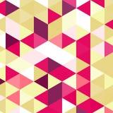 Εκλεκτής ποιότητας σχέδιο τριγώνων Γεωμετρικό αναδρομικό υπόβαθρο hipster με τη θέση για το κείμενό σας αναδρομικό τρίγωνο ανασκό Στοκ Φωτογραφία