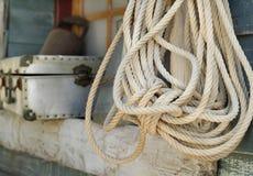 Εκλεκτής ποιότητας σχοινί Στοκ Εικόνες