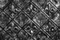 Εκλεκτής ποιότητας σύσταση και υπόβαθρο μετάλλων Στοκ φωτογραφία με δικαίωμα ελεύθερης χρήσης