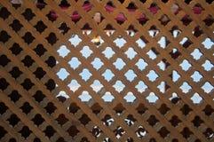 Εκλεκτής ποιότητας σύσταση του φράκτη στο αραβικό ύφος Στοκ φωτογραφία με δικαίωμα ελεύθερης χρήσης