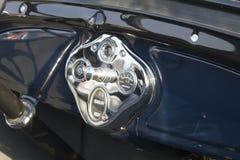 Εκλεκτής ποιότητας ταμπλό αυτοκινήτων Στοκ Φωτογραφίες