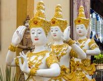 Εκλεκτής ποιότητας ταϊλανδική στάση χορού των αγαλμάτων αγγέλου Στοκ φωτογραφία με δικαίωμα ελεύθερης χρήσης