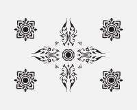 Εκλεκτής ποιότητας ταϊλανδικό σχέδιο ύφους Στοκ Εικόνα