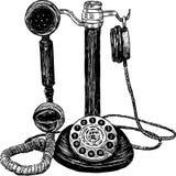Εκλεκτής ποιότητας τηλέφωνο Στοκ Εικόνα
