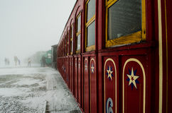 Εκλεκτής ποιότητας τραίνο Στοκ φωτογραφία με δικαίωμα ελεύθερης χρήσης