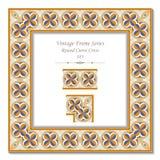Εκλεκτής ποιότητας τρισδιάστατο πλαίσιο 183 στρογγυλός σταυρός καμπυλών Στοκ εικόνα με δικαίωμα ελεύθερης χρήσης