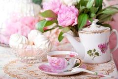 Εκλεκτής ποιότητας τσάι Στοκ Φωτογραφίες