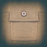 Εκλεκτής ποιότητας τσέπη Στοκ Φωτογραφίες