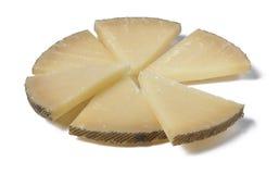 Τυρί στις φέτες Στοκ φωτογραφία με δικαίωμα ελεύθερης χρήσης