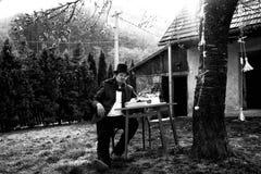 Εκλεκτής ποιότητας υπαίθριος συγγραφέας Στοκ φωτογραφία με δικαίωμα ελεύθερης χρήσης