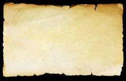 Εκλεκτής ποιότητας παλαιό έγγραφο σύστασης Στοκ Εικόνα