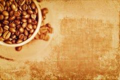 Εκλεκτής ποιότητας υπόβαθρο καφέ ελεύθερη απεικόνιση δικαιώματος