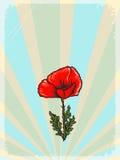 Εκλεκτής ποιότητας υπόβαθρο με floral κινητήριο Στοκ φωτογραφία με δικαίωμα ελεύθερης χρήσης