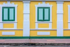 Εκλεκτής ποιότητας υπόβαθρο οικοδόμησης Στοκ Εικόνες