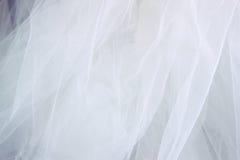 Εκλεκτής ποιότητας υπόβαθρο σύστασης σιφόν του Tulle γάμος σκαλοπατιών πορτρέτου φορεμάτων έννοιας νυφών Στοκ φωτογραφία με δικαίωμα ελεύθερης χρήσης
