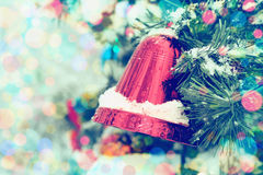 Εκλεκτής ποιότητας υπόβαθρο Χριστουγέννων. Στοκ φωτογραφία με δικαίωμα ελεύθερης χρήσης