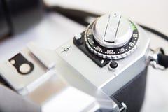 Εκλεκτής ποιότητας φωτογραφική μηχανή SLR Στοκ Φωτογραφία