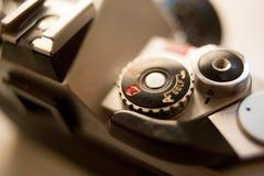 Εκλεκτής ποιότητας φωτογραφική μηχανή SLR Στοκ Φωτογραφίες
