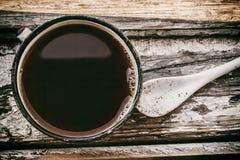 Εκλεκτής ποιότητας φλυτζάνι καφέ Στοκ Εικόνες