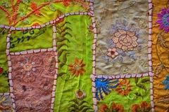 Εκλεκτής ποιότητας χειροποίητο υπόβαθρο ταπήτων Jaisalmer, Rajasthan, Indi Στοκ φωτογραφίες με δικαίωμα ελεύθερης χρήσης
