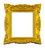 Εκλεκτής ποιότητας χρυσό πλαίσιο Στοκ φωτογραφίες με δικαίωμα ελεύθερης χρήσης