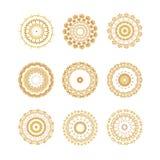 Εκλεκτής ποιότητας χρυσό σχέδιο Στοκ Εικόνα