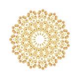 Εκλεκτής ποιότητας χρυσό σχέδιο Στοκ Εικόνες