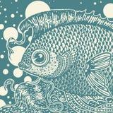 Εκλεκτής ποιότητας ψάρια Στοκ εικόνες με δικαίωμα ελεύθερης χρήσης