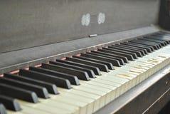 Εκλεκτής ποιότητας όρθιο πιάνο Στοκ Εικόνα