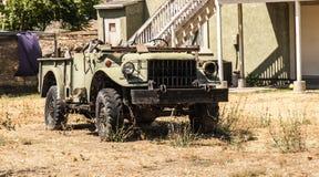 Εκλεκτής ποιότητας όχημα στην ερείπωση στοκ εικόνα με δικαίωμα ελεύθερης χρήσης