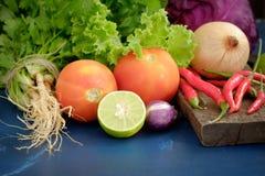 Εκλεκτής ποιότητας ύφος λαχανικών Στοκ Εικόνες
