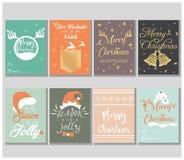 Εκλεκτής ποιότητας ύφος σφαιρών Χριστουγέννων Ελεύθερη απεικόνιση δικαιώματος