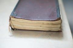 Εκλεκτής ποιότητας, antiquarian παλαιό βιβλίο Στοκ Εικόνα