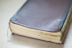 Εκλεκτής ποιότητας, antiquarian παλαιό βιβλίο Στοκ Εικόνες