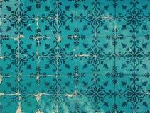 Εκλεκτής ποιότητας azulejos, παραδοσιακά πορτογαλικά κεραμίδια στοκ φωτογραφία με δικαίωμα ελεύθερης χρήσης