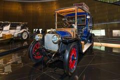 Εκλεκτής ποιότητας Benz 20/35 CP Landaulet, 1909 αυτοκινήτων Στοκ εικόνα με δικαίωμα ελεύθερης χρήσης