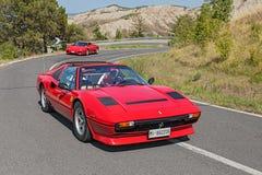 Εκλεκτής ποιότητας Ferrari 208 GTS τούρμπο Στοκ Εικόνα