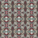 Εκλεκτής ποιότητας floral άνευ ραφής σχέδιο γεωμετρίας Στοκ Εικόνες