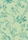 Εκλεκτής ποιότητας floral άνευ ραφής σχέδιο με συρμένες τις χέρι παπαρούνες Στοκ φωτογραφία με δικαίωμα ελεύθερης χρήσης