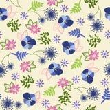Εκλεκτής ποιότητας floral πρότυπο Στοκ φωτογραφίες με δικαίωμα ελεύθερης χρήσης