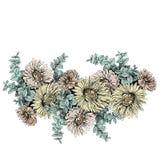 Εκλεκτής ποιότητας floral στοιχείο υποβάθρου για το κείμενό σας Στοκ Εικόνα
