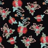 Εκλεκτής ποιότητας floral σχέδιο ύφους Στοκ εικόνες με δικαίωμα ελεύθερης χρήσης