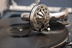 Εκλεκτής ποιότητας gramophone Στοκ φωτογραφίες με δικαίωμα ελεύθερης χρήσης
