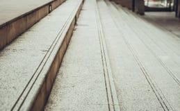 Εκλεκτικός τρύγος τόνου σκαλοπατιών εστίασης Στοκ φωτογραφία με δικαίωμα ελεύθερης χρήσης