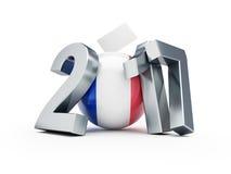 Εκλογές στη Γαλλία 2017 απεικόνιση αποθεμάτων